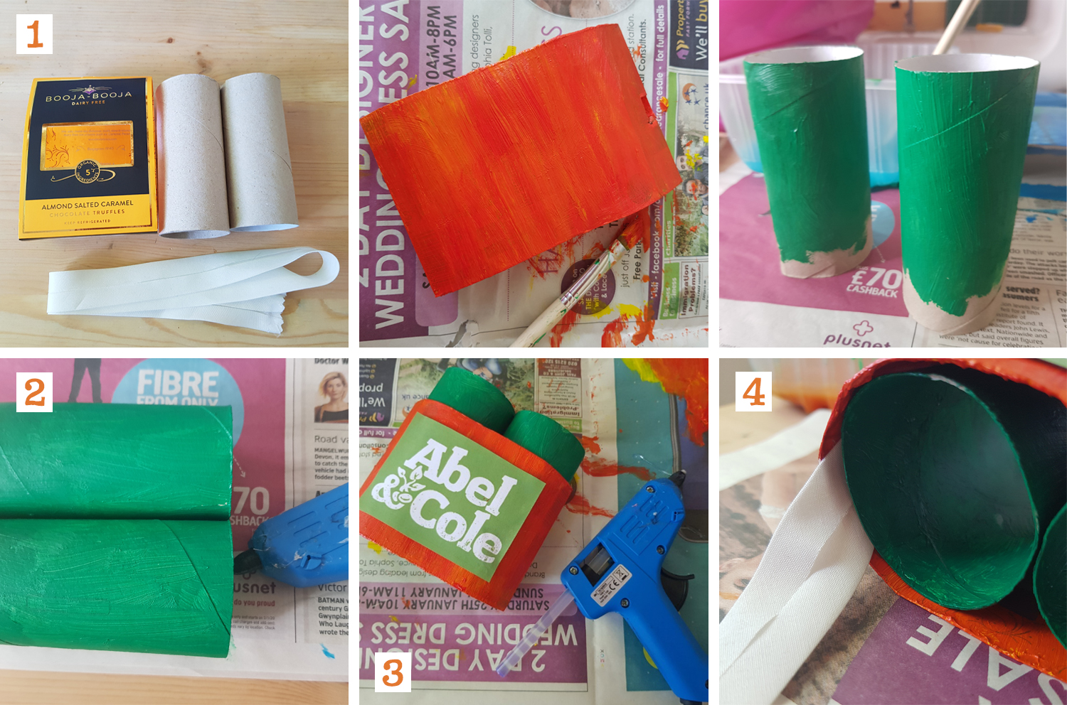 Steps to DIY Binoculars