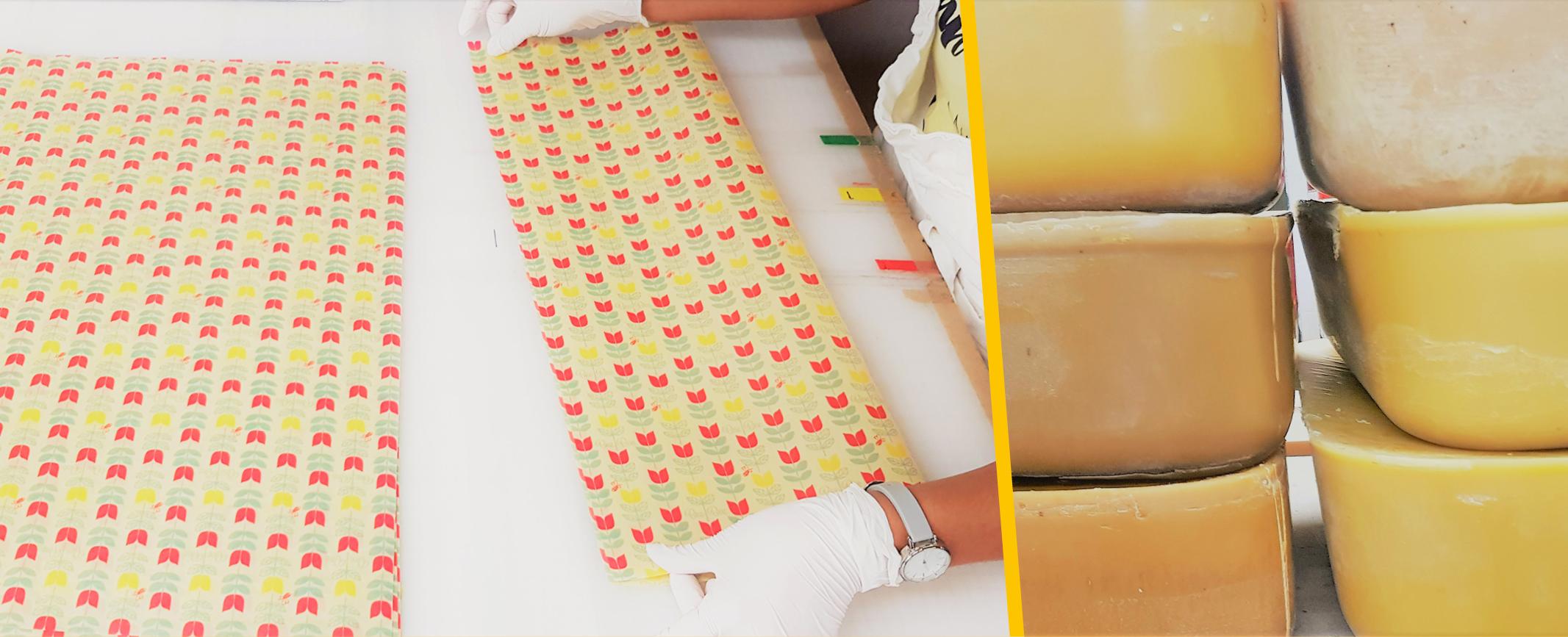 Wax wrap making