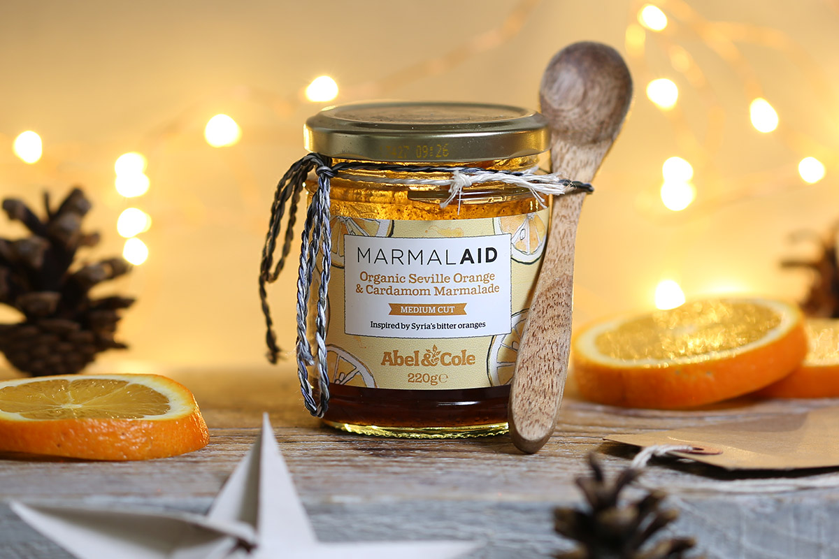 Orange and Cardammon Jam