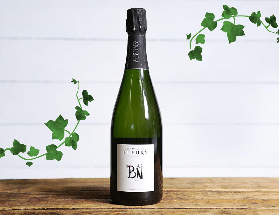 Fleury Carte Champagne, Blanc de Noirs 2017