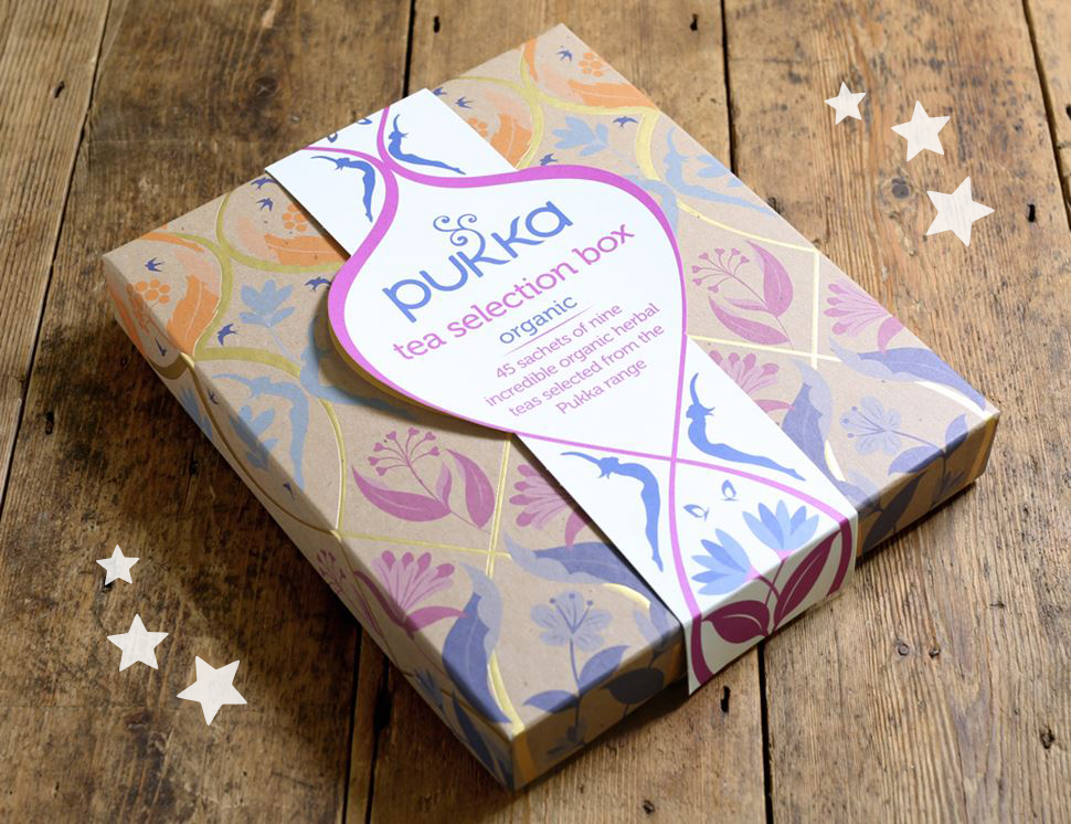 The Pukka Tea Selection Box, Pukka