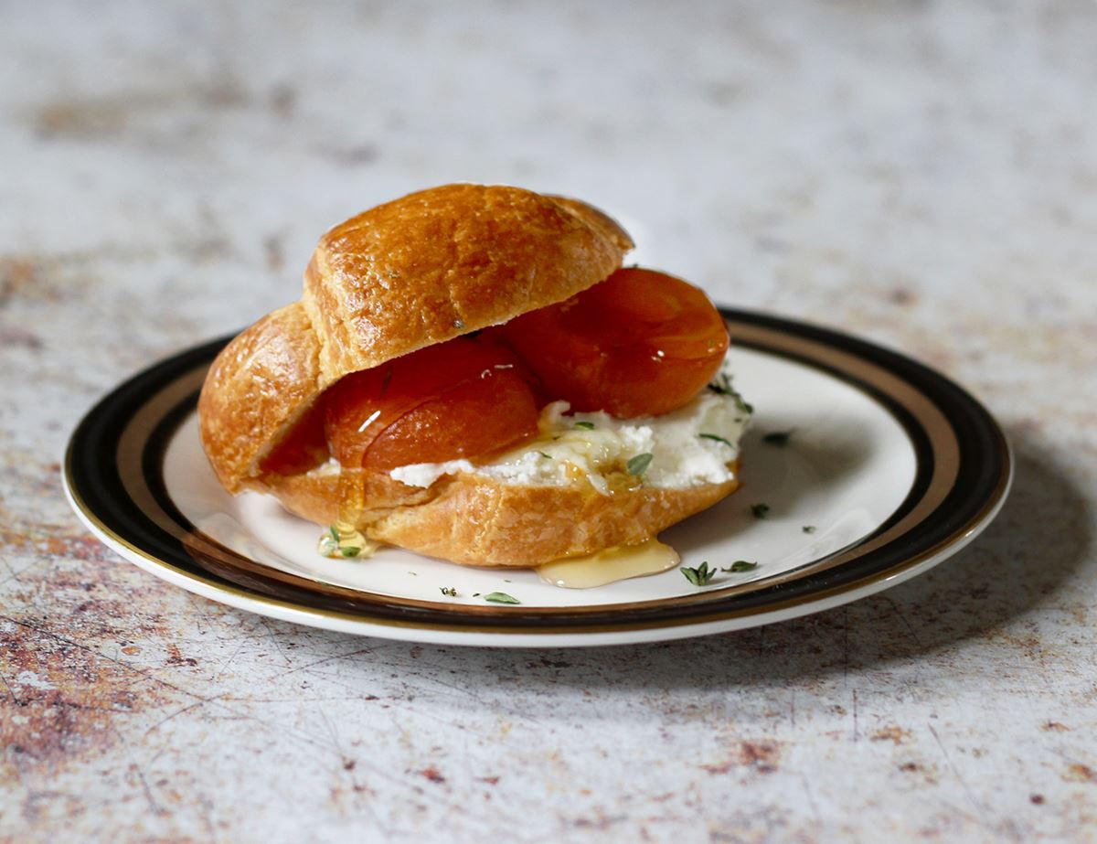 Apricot and Goat's Cheese Croissant