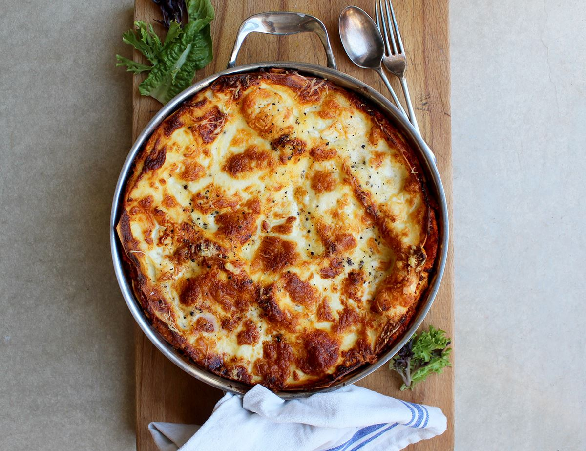 Family Veggie Lasagne