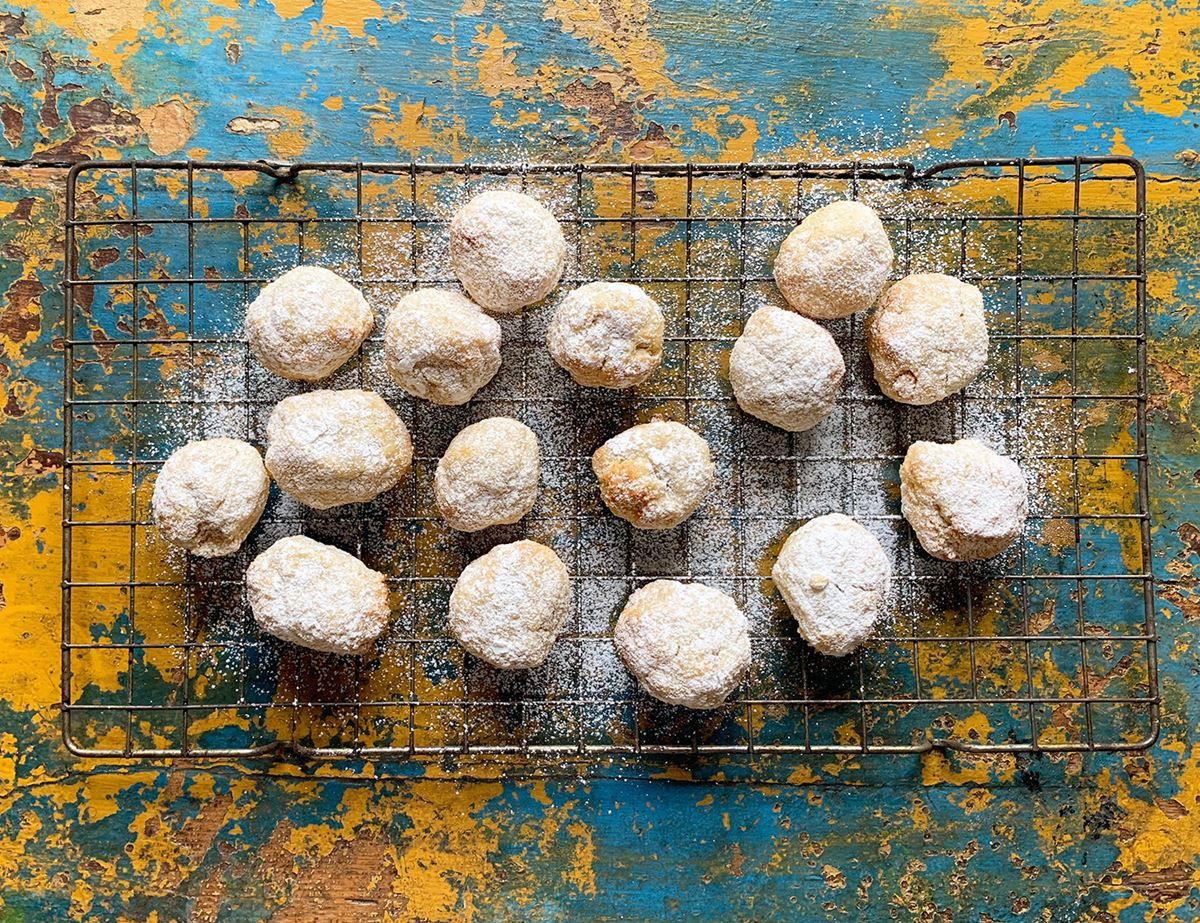 Soft Orange & Pine Nut Amaretti
