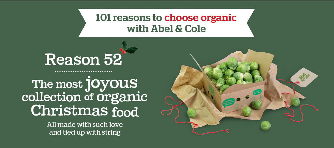 101 reasons to choose organic with Abel and Cole