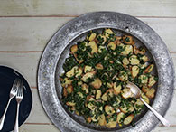 Kale & Anchovy Spuds