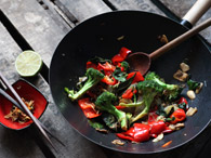 Spice Crackle Stir-fry