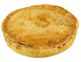 Organic Family Chicken & Leek Pie, Abel & Cole (750g)