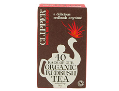 Organic Redbush Tea, Clipper (40 bags)