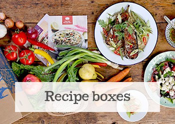 Explore our Recipe boxes