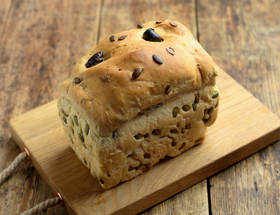 Olive Bread, Organic, Authentic Bread Co. (400g)