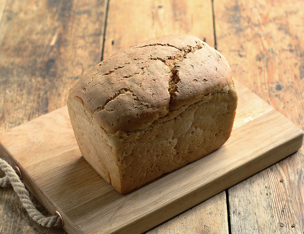 Light Sourdough Rye Bread, Organic, Authentic Bread Co. (800g)