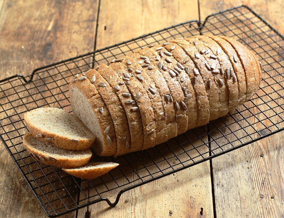 Sunflower Bread, Sliced, Organic, Authentic Bread Co. (400g)