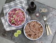 Pulled Pork with Crisp & Crunchy Slaw