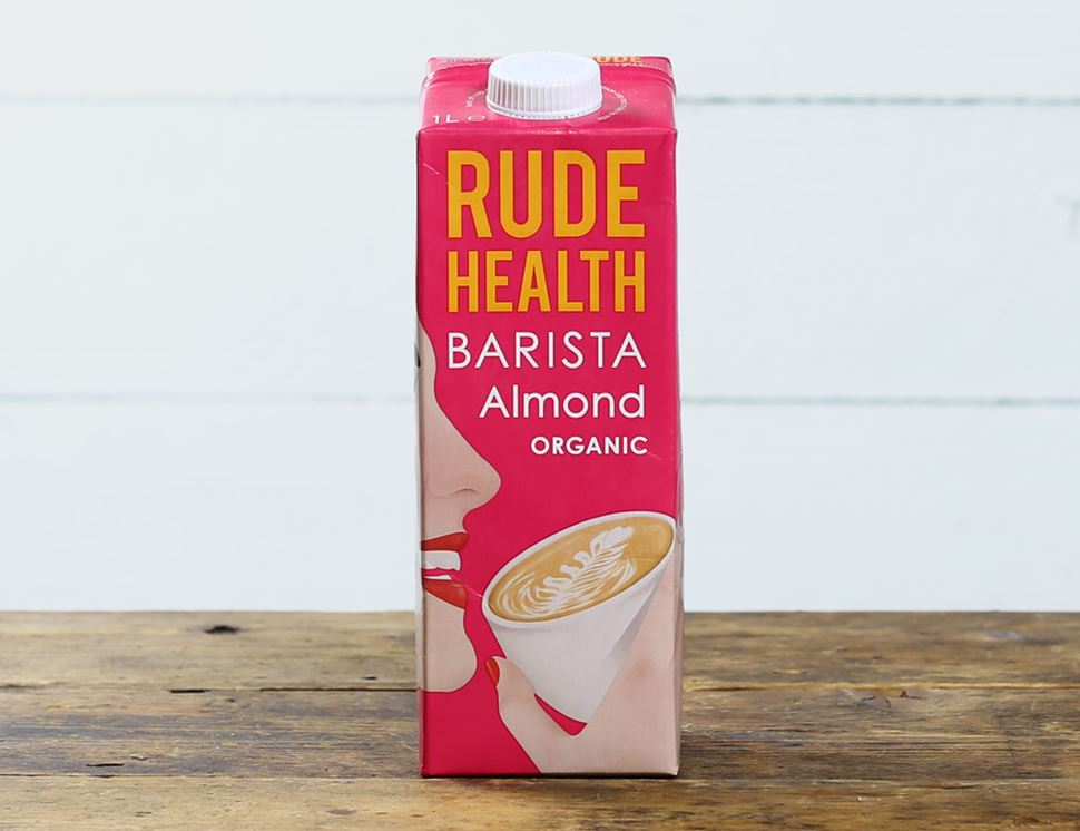 almond drink barista style rude health