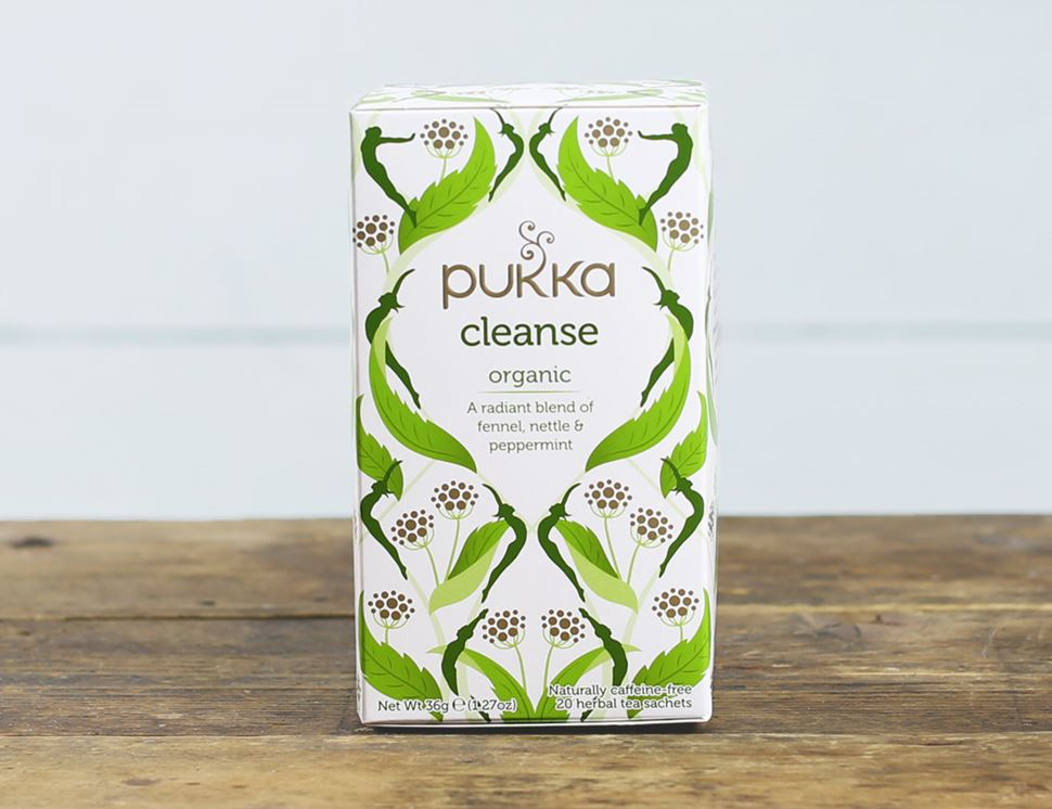 organic cleanse tea pukka