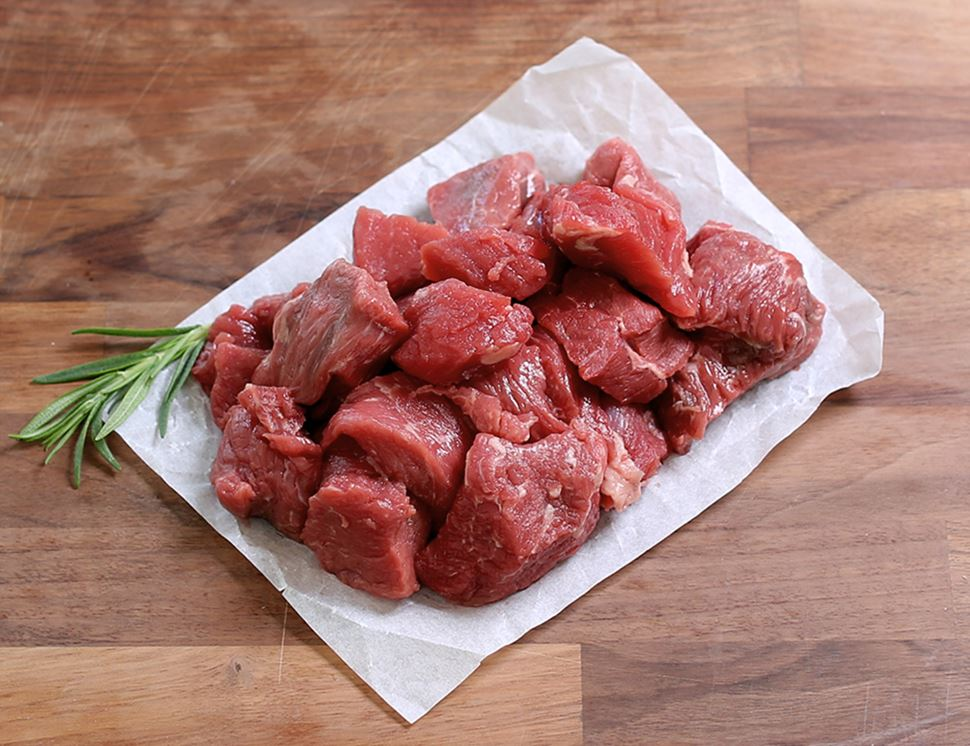 Stewing Steak, Diced, Organic, Daylesford (400g)