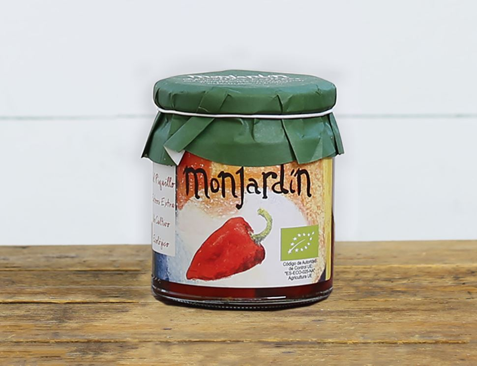Piquillo Peppers, Organic, Monjardin (220g)