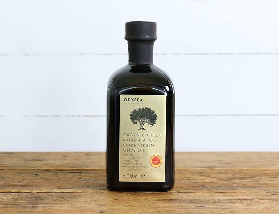Greek Kalamata PDO Extra Virgin Olive Oil, Organic, Odysea (500ml)