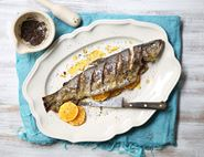 Orange & Tea Rubbed Trout
