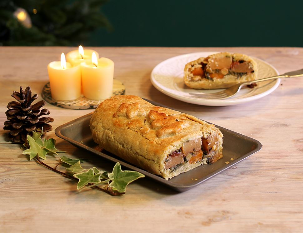 Winter Root Veg with Cranberry Wellington, Organic, Lodge Farm Kitchen (500g)