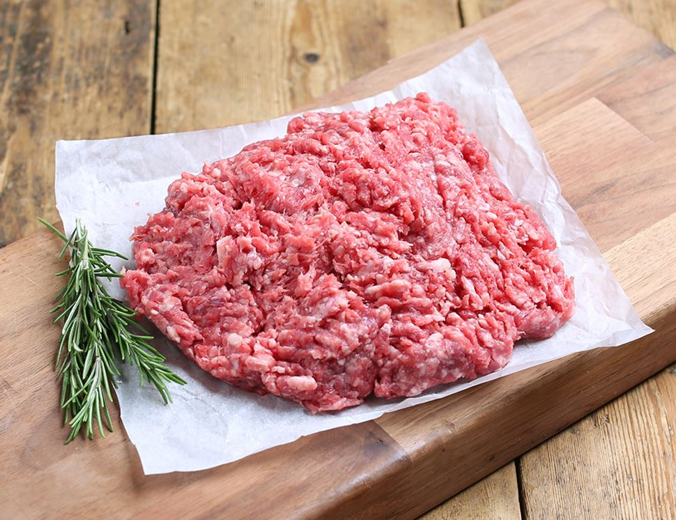 organic beef mince larger pack