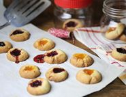 Swedish Thumbprint Cookies