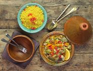 Jewelled Chicken Tagine with Ginger & Turmeric
