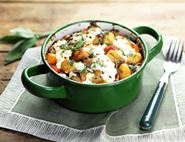 Squash & Gnocchi Bake with Sheep's Cheese & Sage