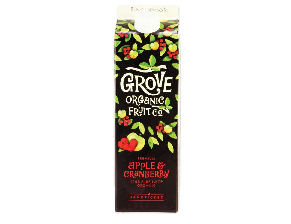 Apple & Cranberry Juice, Grove (1 litre)