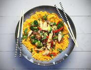 Vietnamese Chicken with Butternut Squash Rice