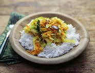 Keralan Cabbage & Coconut Curry
