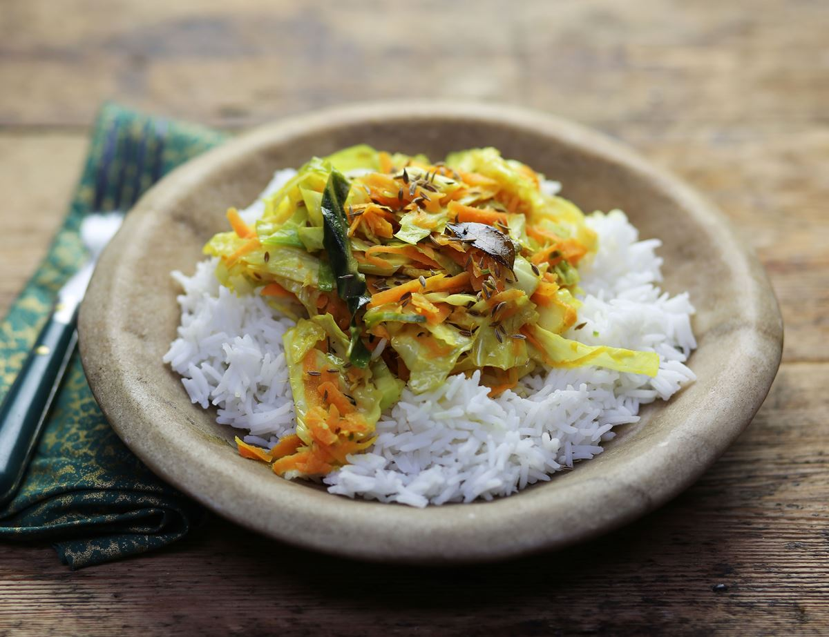 Keralan Cabbage Coconut Curry Recipe Abel Cole