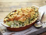 Smoked Haddock & Spring Greens Pie