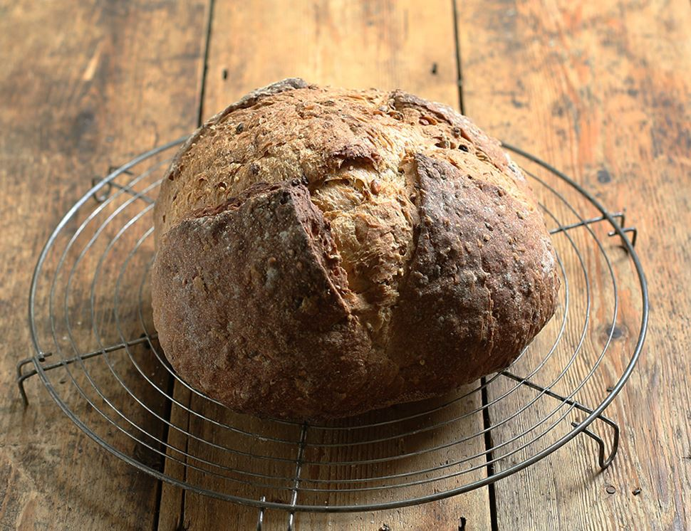 Malted 5 Seed Sourdough Bread, Organic, Famous Hedgehog Bakery (800g)
