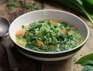 Wild Garlic Spring Soup