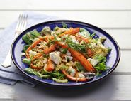 Honeyed Roast Carrot & Feta Pilaf