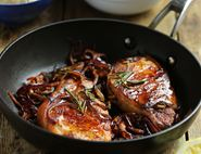 Smoky Spanish Pork with Rosemary Butter Bean Mash