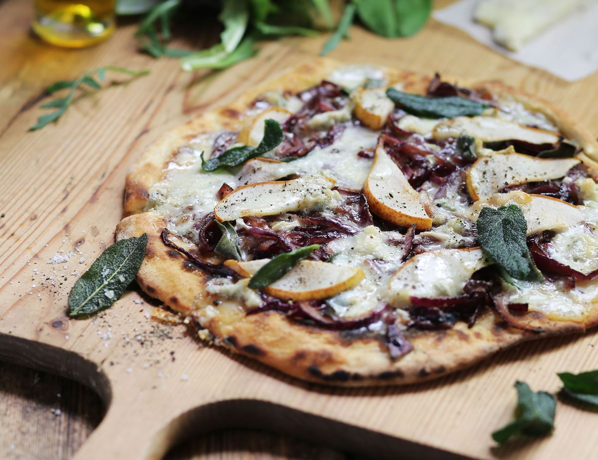 Pear Amp Blue Cheese Pizza Recipe Abel Amp Cole
