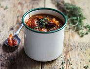 Roasted Balsamic & Thyme Tomato Soup