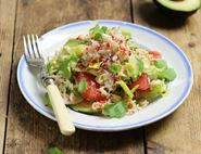Thai Crab, Avocado & Grapefruit Salad