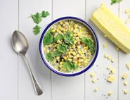 Coconut Creamed Sweetcorn