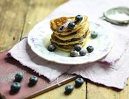 Blueberry Pancake Stacks