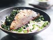 Grilled Trout Donburi with Sticky Rice