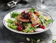 Chinese Chicken & Plum Salad