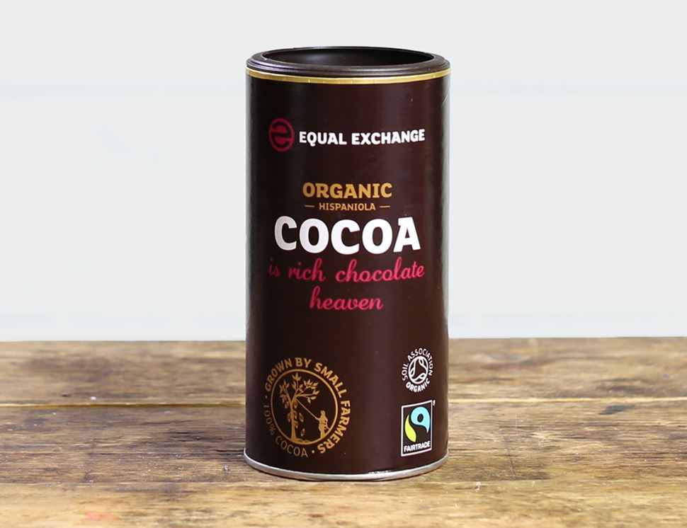 Hispaniola Cocoa Powder, Fairtrade, Organic, Equal Exchange (250g)