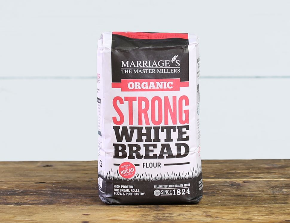 Strong White Flour, Organic, Marriage's (1kg)