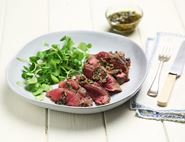 Blade Steaks with Parsley & Caper Brown Butter