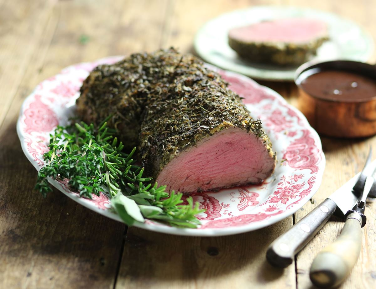 Herb & Horseradish Crusted Fillet of Beef