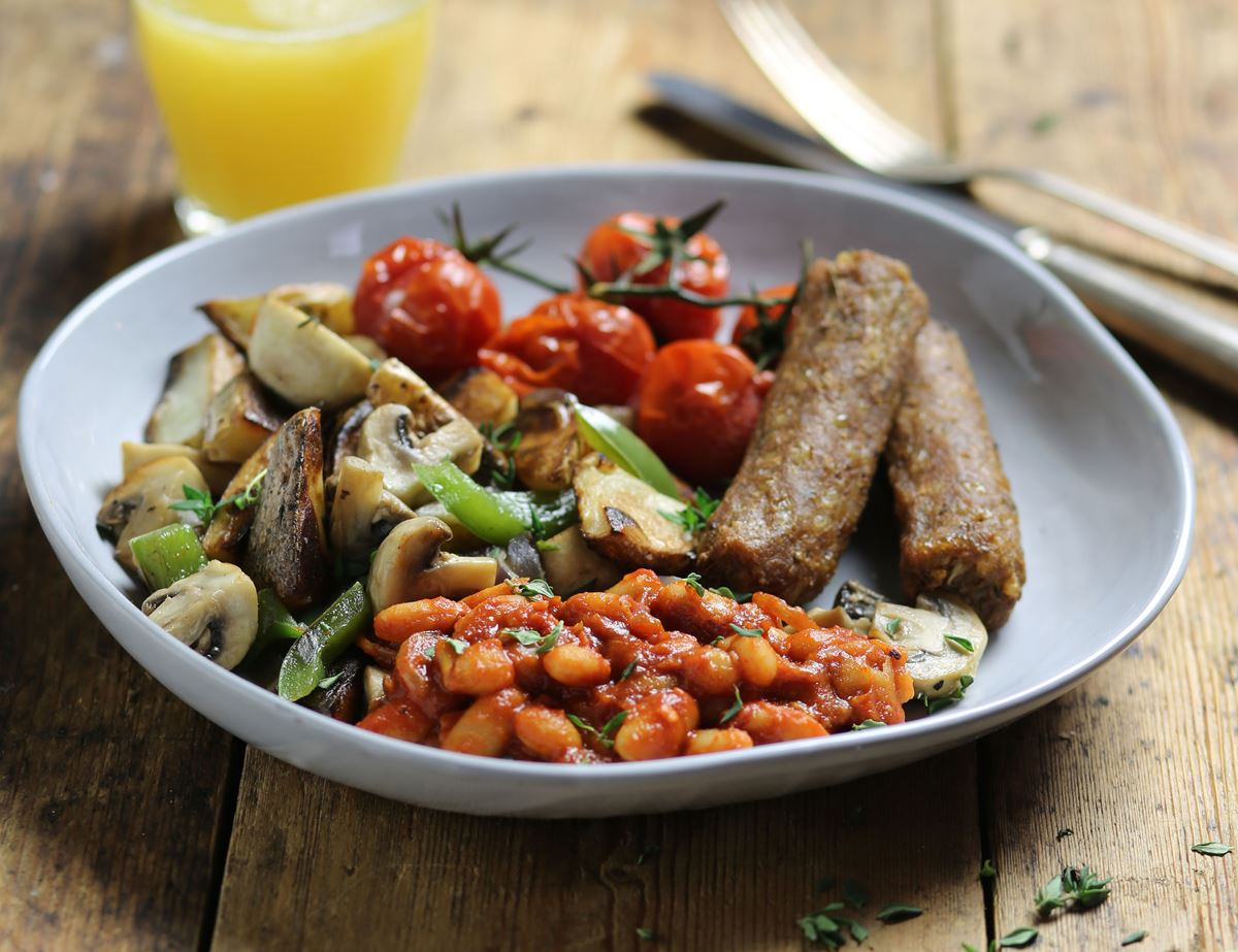 The Ultimate Vegan Fry Up